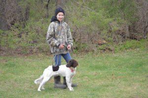 Lydia Carlson & Brie vom Cedar River